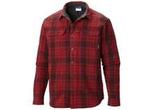 Mens Wholesale Red Plaid Winter Shirt
