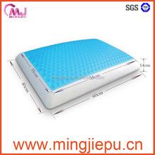 Gel Memory Foam Textured Standard Pillow,queen size