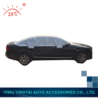 New coming factory wholesale sliver fast car cover