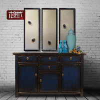 Chinese high gloss sideboard four drawers antique sideboard