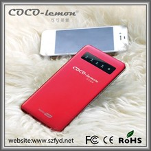 Stainless steel 4000mAh mini power bank for Samsung/Iphone and all the smartphones