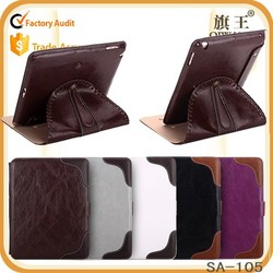 retro 360 rotating tablet case for ipad 3 4 genuine leather laptop case