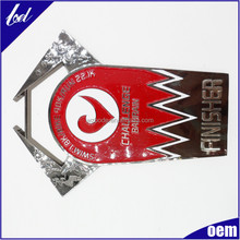 Promotional products Metal LOGO custom shaped zinc alloy logo tag Golf bag tag