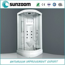 SUNZOOM shower steam room,enclosed steam shower room,fine massage rooms