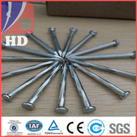 Hardened steel concrete nails / steel nails