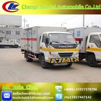 3000kg-4000kg FOTON box truck, cargo van with cheap price