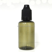 New Products 30ml PET squeeze bottle for e juice/essential oil with private label