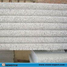 Sandblasted & Flamed Bullnose Granite Tiles