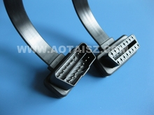 16 pin obdii cable AOT auto cable car extension line