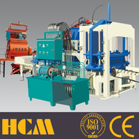 QT4-20 used concrete hollow block making machine for sale