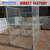 Welded Wire Mesh Dog Kennel / Wire Mesh Fencing Dog Kennel