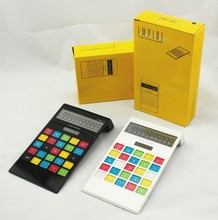 10 digit desktop colorful keys calculators