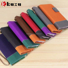 Latest product PU leather phone case for mobile accessory for Samsung galaxy