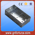 buena calidad eléctrica de hierro 3x6 cajas de interruptor