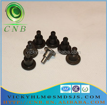 Aluminum flat head shoulder solid rivets