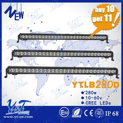 2015 latest CE Certification High Quality led light bar280w c.r.e.e Mini LED Light Bars51.5inch LED light bar