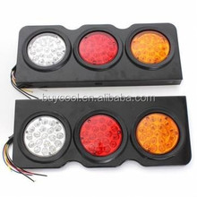 24V 57 Led Stop Rear Reverse Tail Lights For Truck Ute Trailer Caravan Campers