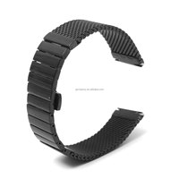 Brand New Wrist Watch Strap Push Button Band 24mm Stainless Steel Mesh Band Straight End Different Quality