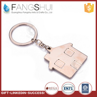 Fcatory direct selling unique design zinc alloy keychain keyrings