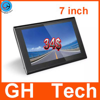 7 inch best gps devices for cars Navigation 800*480 128M / 4GB