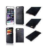 Single Back Leather Case For iPhone 6s Card Slot Design For iPhone 6Plus Cover For Coque iPhone 6 Case