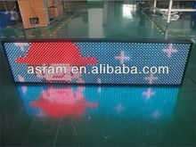 Aliexpress Shenzhen Asram LED Cheap price waterproof P10 outdoor message/text scrolling/moving/running display panel/led signs