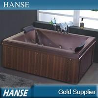 HS-B237 fashion design easy clean 2 person outdoor spa bathtub