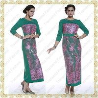 Transend 13355 Wholesale Pakistani Designer Women Long Kurtis 2013