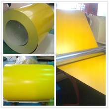 Yellow Steel Coils , Prepainted Steel PPGI Coils