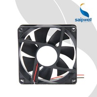 Saipwell 12v DC Fan China Wholesale Axial Flow Fan 80*80*25 Hot Sale Best Price DC Fan