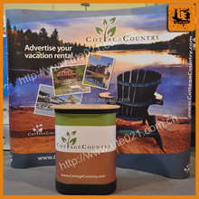 Promotion Custom Portable Advertising Trade Show Exhibits/trade show display/trade show banners