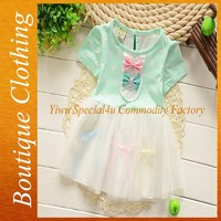Chiffon fancy baby dress new style sweet toddler baby dress 2015 SFUBD-1260