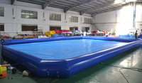 Outdoor Durable Inflatable Pool & Giant Inflatable Pools & Inflatable Pool Rental