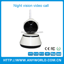 DC TIMES Indoor WIfi IP Camera Free Network Video Call Wireless P2P
