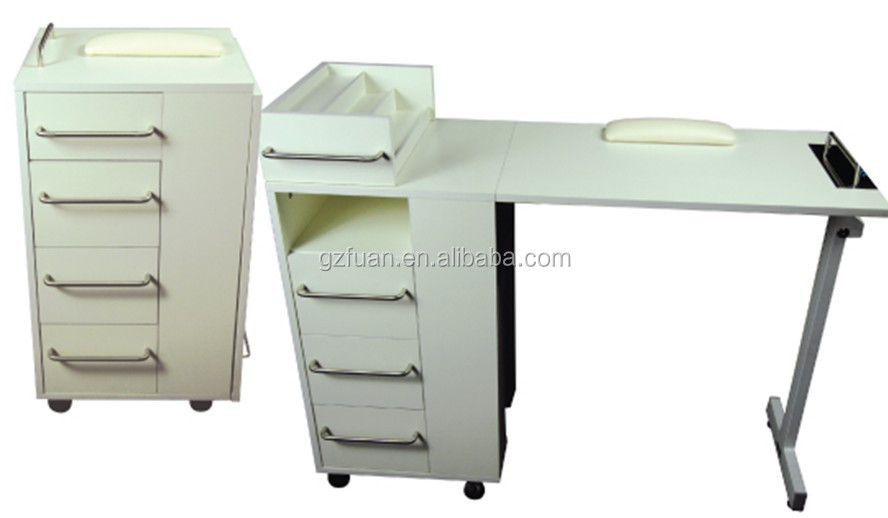 Folding Small Size Manicure Table Nail Technician Table Tkn-12726fx ...