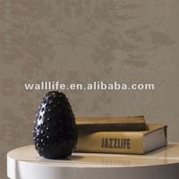 Latest modern design non-woven roll wallpapers