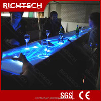 Amazing and unique night club furniture interactive bar table