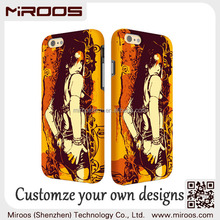 The Coolest phone back cover custom for iphone 6 phone cover rubber coated