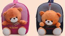 bolsas escolares lindo oso de dibujos animados bolsas niño bolsas escolar
