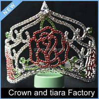 Princess flower girls tiara crown, bridal tiara wedding hair crown
