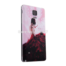 phone cases Cover For Samsung Galaxy Note 4 mobile cover Hard Cell 3D Relief Phone Case (12 photo selection)