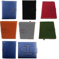 Modern Stylish crystal pattern flip leather smart cover case for ipad air 2