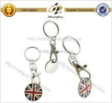 High Quality Custom Brand porsche car logo keychain