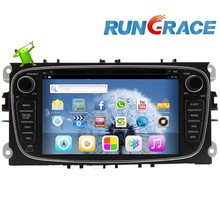 ford mondeo android 2 din car dvd player gps radio