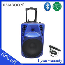 12v wireless powered pa speakers for fitness
