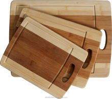 Bamboo Cutting Boards cooking accessory set of 3 pcs