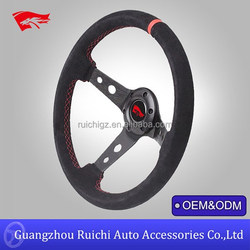 Deep Corn Rally Drifting Steering Wheel Compatible with MOMO Steering Wheels