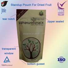 Standup Pouch For Dried Fruit