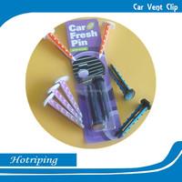 China promote printing item incense car wash air freshener vent clip air freshener car