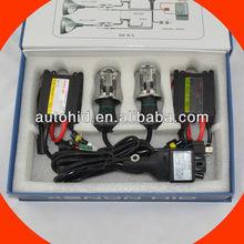 Factory wholesale AC DC 35w 55w H4 hi//lo slim hid kit